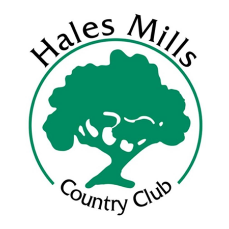 Logo of golf course named Hales Mills Country Club