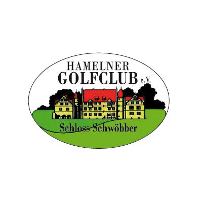 Logo of golf course named Hamelner Golfclub e.V. Schloss Schwobber