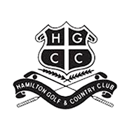 Logo of golf course named Hamilton Golf and Country Club