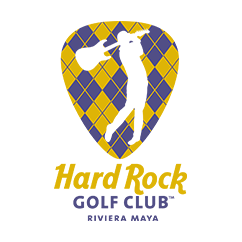 Logo of golf course named Hard Rock Golf Club Riviera Maya
