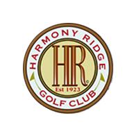 Logo of golf course named Harmony Ridge Golf Club
