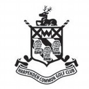 Logo of golf course named Harpenden Common Golf Club