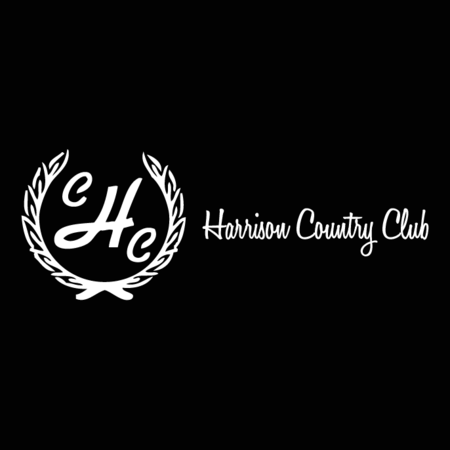 Logo of golf course named Harrison Country Club