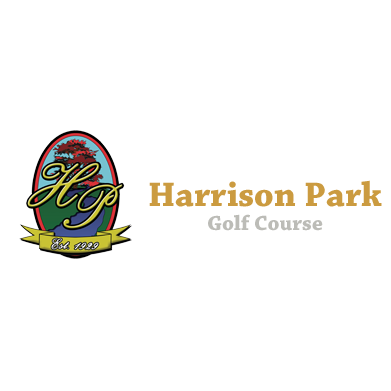 Logo of golf course named Harrison Park Golf Course