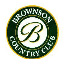 Logo of golf course named Harry R. Brownson Country Club