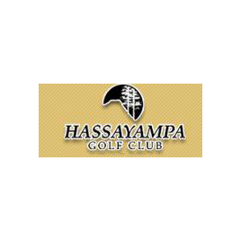 Logo of golf course named Hassayampa Golf Club