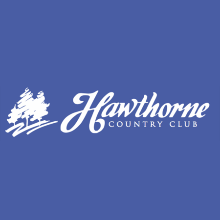 Logo of golf course named Hawthorne Country Club