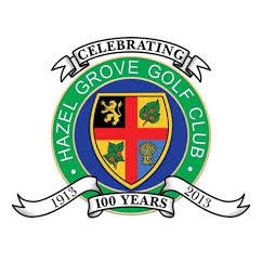 Logo of golf course named Hazel Grove Golf Club