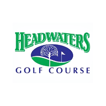 Logo of golf course named Headwaters Public Golf Course
