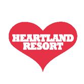 Logo of golf course named Heartland Resort