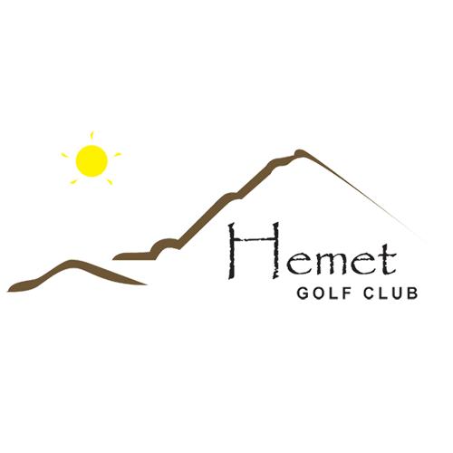 Logo of golf course named Hemet Golf Club