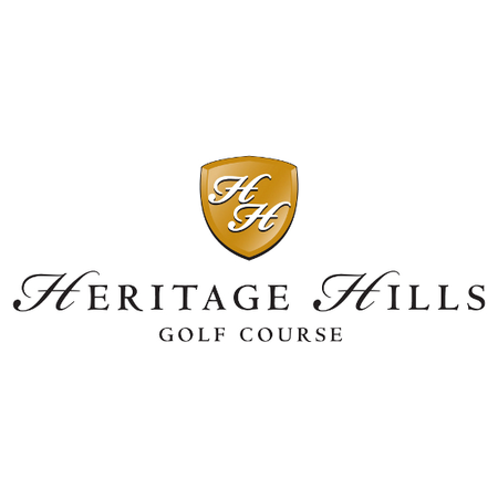 Logo of golf course named Heritage Hills Golf Course