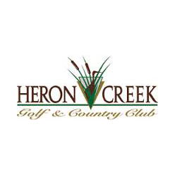 Logo of golf course named Heron Creek Golf and Country Club