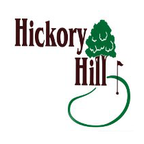 Logo of golf course named Hickory Hill Golf Club