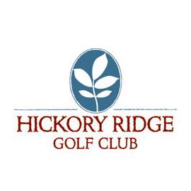 Logo of golf course named Hickory Ridge Golf Club