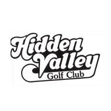 Logo of golf course named Hidden Valley Golf Club