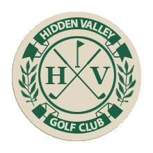 Logo of golf course named Hidden Valley Lake Golf Club