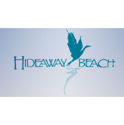 Logo of golf course named Hide Away Beach Club