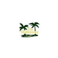 Logo of golf course named Hideaway Country Club, The