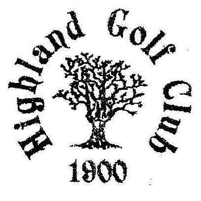 Logo of golf course named Highland Golf Club