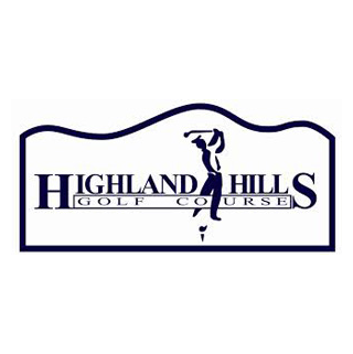 Logo of golf course named Highland Hills Golf Course