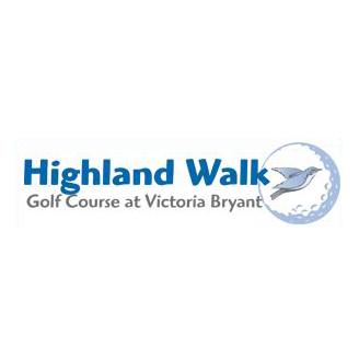 Logo of golf course named Highland Walk at Victoria Bryant