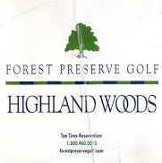 Logo of golf course named Highland Woods Golf Course