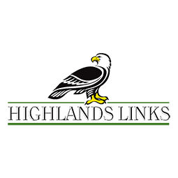 Logo of golf course named Highlands Links Golf Club