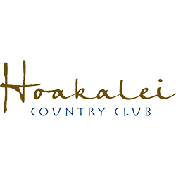 Logo of golf course named Hoakalei Country Club