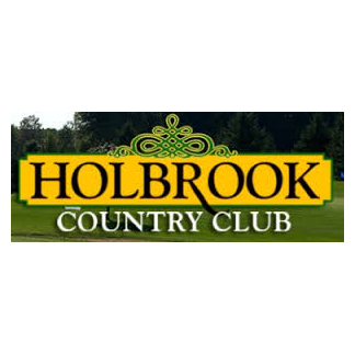 Logo of golf course named Holbrook Country Club Golf Course