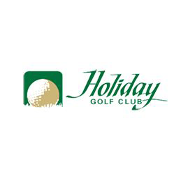 Logo of golf course named Holiday Golf Club