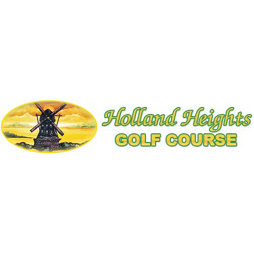 Logo of golf course named Holland Heights Golf Course