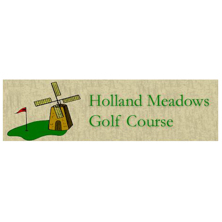 Logo of golf course named Holland Meadows Golf Course