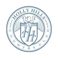 Logo of golf course named Holly Hills Country Club