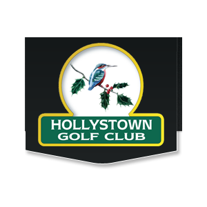 Logo of golf course named Hollystown Golf Club