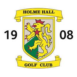 Logo of golf course named Holme Hall Golf Club