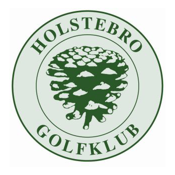 Logo of golf course named Holstebro Golfklub