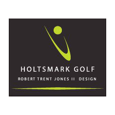 Logo of golf course named Holtsmark Golf