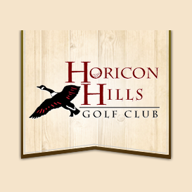 Logo of golf course named Horicon Hills Golf Club