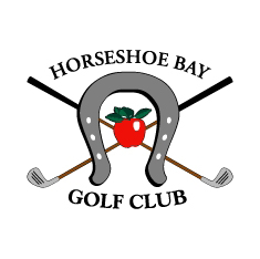 Logo of golf course named Horseshoe Bay Golf Club