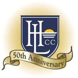 Logo of golf course named Houston Lake Country Club