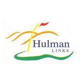 Logo of golf course named Hulman Links Golf Course