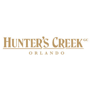 Logo of golf course named Hunter's Creek Golf Club
