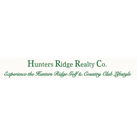 Logo of golf course named Hunters Ridge Country Club