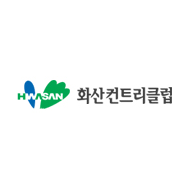 Logo of golf course named Hwasan Country Club