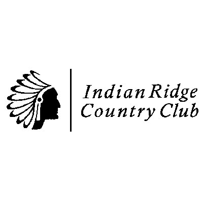 Logo of golf course named Indian Ridge Country Club