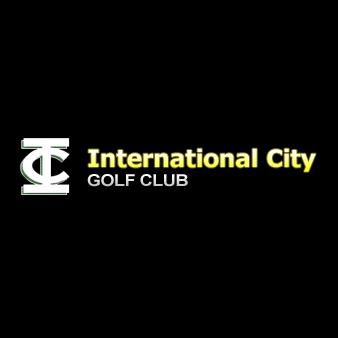 Logo of golf course named International City Golf Club