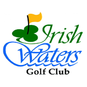 Logo of golf course named Irish Waters Golf Club