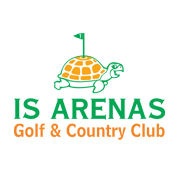 Logo of golf course named Is Arenas Golf and Country Club