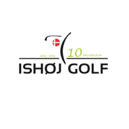 Logo of golf course named Ishoej Golf Club
